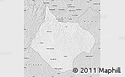 Silver Style Map of Luebo