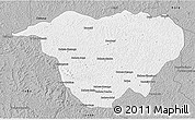Gray 3D Map of Mweka