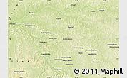 Physical Map of Mweka