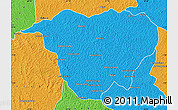 Political Map of Mweka