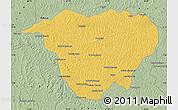Savanna Style Map of Mweka