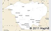 Classic Style Simple Map of Mweka