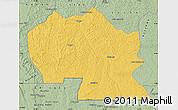 Savanna Style Map of Thikapa