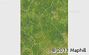 Satellite Map of Demba