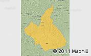 Savanna Style Map of Demba
