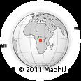 Outline Map of Kazumba
