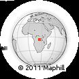 Outline Map of Kabinda