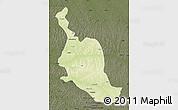 Physical Map of Kole, darken