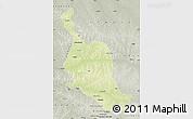 Physical Map of Kole, semi-desaturated