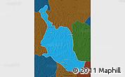 Political Map of Kole, darken