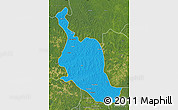 Political Map of Kole, satellite outside