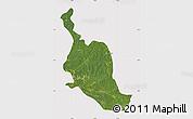 Satellite Map of Kole, cropped outside