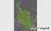 Satellite Map of Kole, desaturated