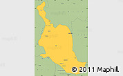 Savanna Style Simple Map of Kole