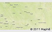 Physical 3D Map of Lomela