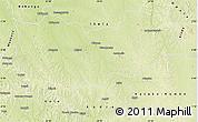 Physical Map of Lomela