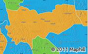 Political Map of Lomela