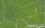 Satellite Map of Lomela