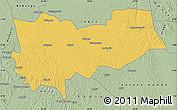 Savanna Style Map of Lomela