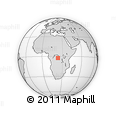 Outline Map of Lomela