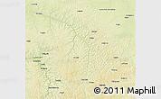 Physical 3D Map of Lubefu