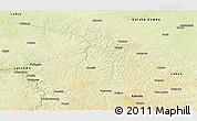 Physical Panoramic Map of Lubefu