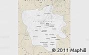 Classic Style Map of Tshilenge