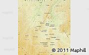 Physical Map of Tshilenge