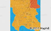 Political Map of Tshilenge