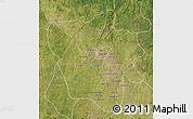 Satellite Map of Tshilenge