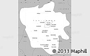 Gray Simple Map of Tshilenge