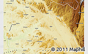 Physical Map of Kabambare