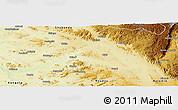 Physical Panoramic Map of Kabambare