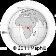 Outline Map of Kindu