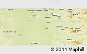 Physical Panoramic Map of Kindu