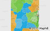 Political Shades Map of Maniema