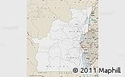 Classic Style Map of Kivu