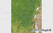 Satellite Map of Kivu