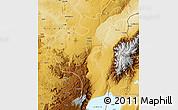 Physical Map of Beni