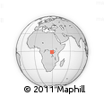 Outline Map of Goma