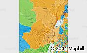 Political Shades Map of Nord-Kivu