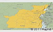 Savanna Style Panoramic Map of Kivu