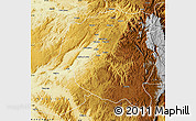 Physical Map of Mwenga