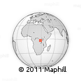 Outline Map of Mwenga