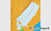 Political Map of Lake Mweru