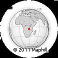 Outline Map of Lake Mweru