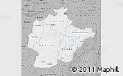 Gray Map of Haut-Lomami