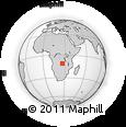 Outline Map of Kambove/Likasi