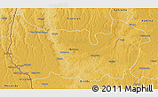 Physical 3D Map of Sandoa