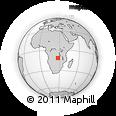 Outline Map of Lubumbashi